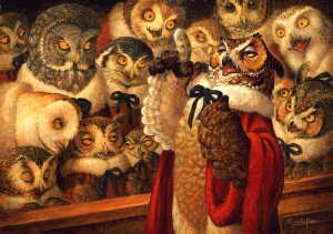 Parliament of Owls (S. Gustaf)